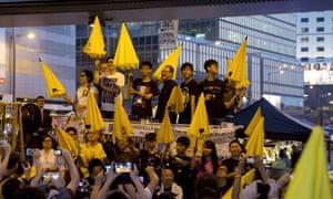 Pro-democracy leaders in Hong Kong.