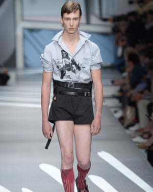 9d9185cdc9e8 Almost reality  Prada explores modernity in men s collection ...