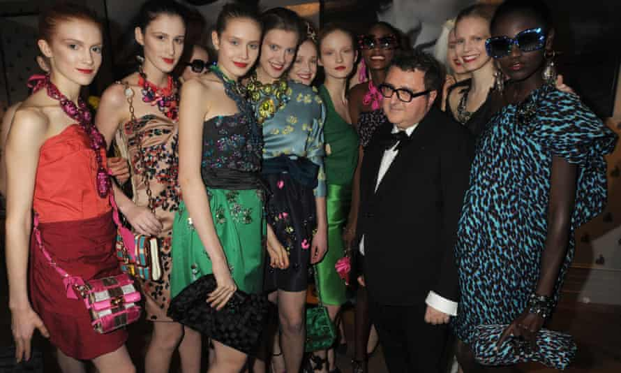 Alber Elbaz at a Lanvin launch party in 2009.
