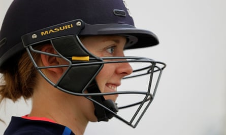 Heather Knight, captain of the victorious England women's cricket team.