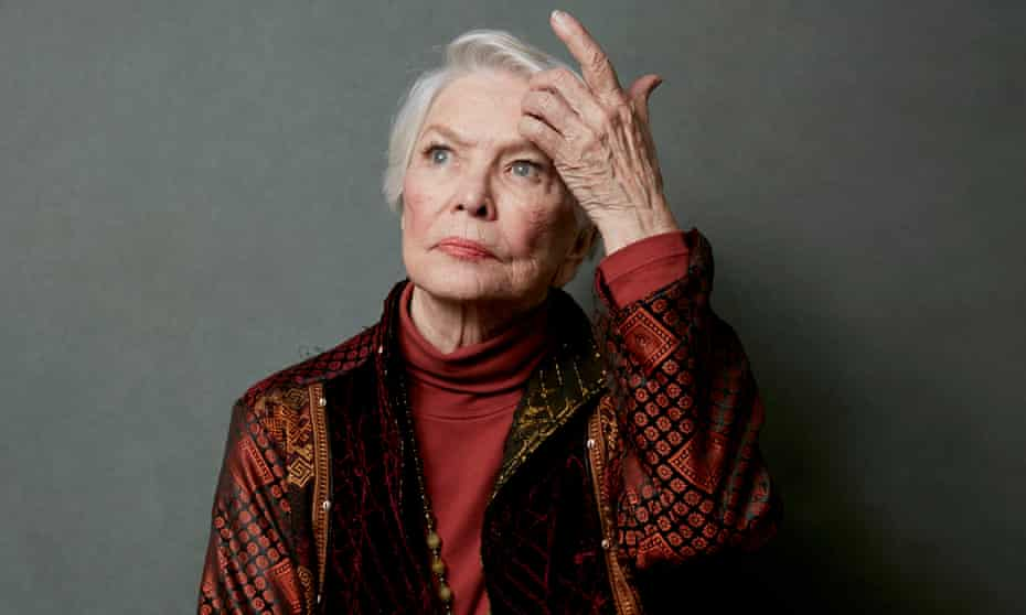 Aiming to beat Christopher Plummer … Burstyn, who hopes to be nominated for Pieces of a Woman.