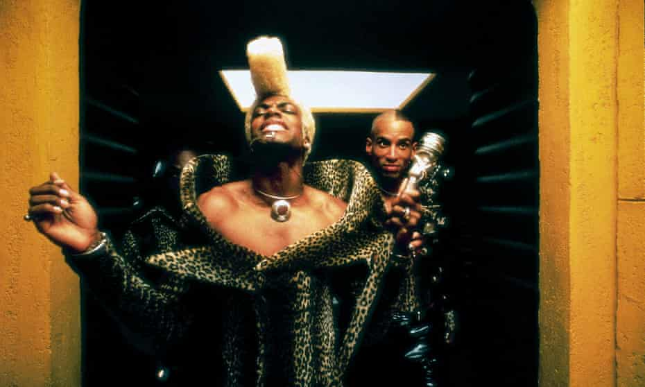 Chris Tucker in The Fifth Element.