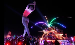 Truth is Beauty by Marco Cochrane, in situ at Burning Man.