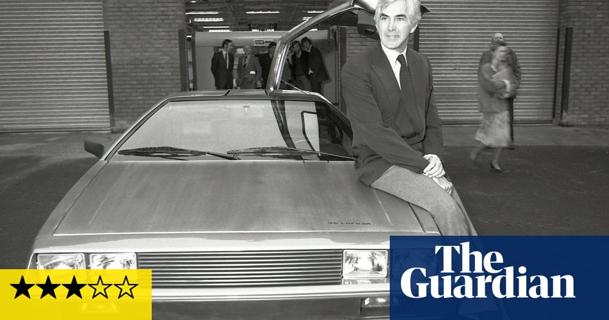 Myth & Mogul: John DeLorean review – how years of lies felled an automotive giant