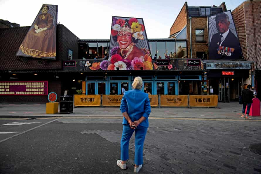 The Unforgotten … 2020 installation co-created by Greenaway-Bailey at the Young Vic, London.
