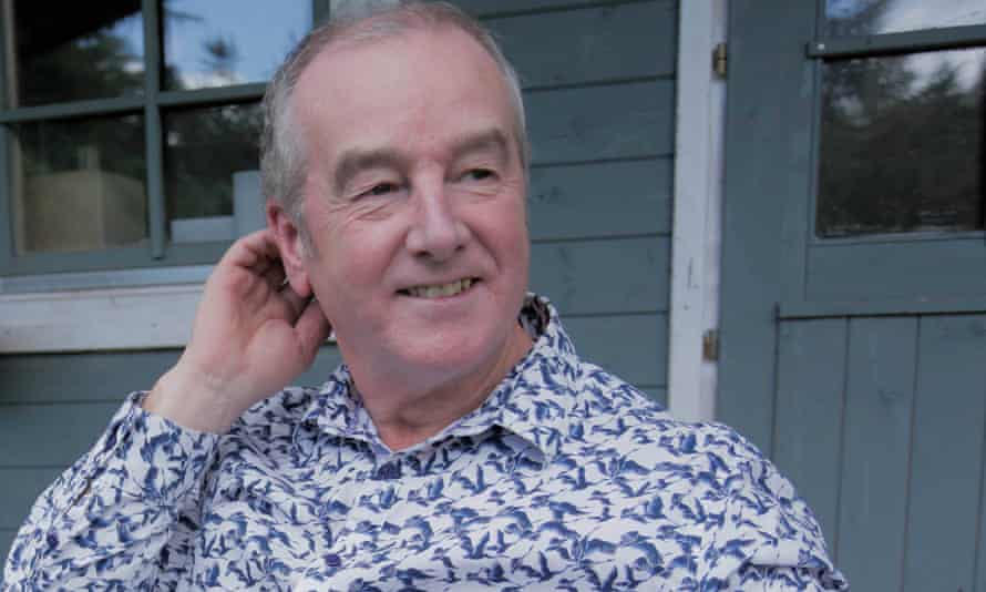 David Almond at his home in Humshaugh, Northumberland.