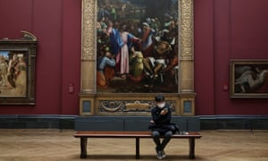 Visitors to the National Gallery will be encouraged to wear face coverings and the distancing will be 2 metres.