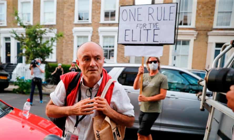 Dominic Cummings in London last week.