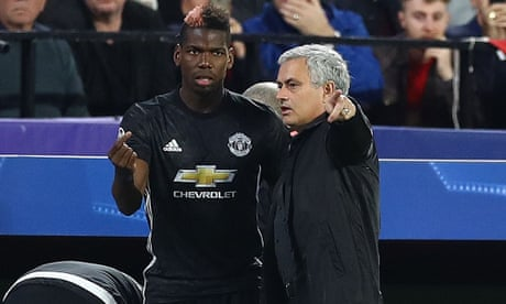 Paul Pogba 'cannot be happy' with treatment at Manchester United – Deschamps