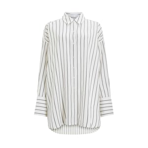 Editor's pick: Mother of Pearl's collection for John Lewis is sustainable and traceable – all fabrics are either TENCEL or organic cotton Stripe shirt, £89, by Mother Of Pearl, from johnlewis.com.