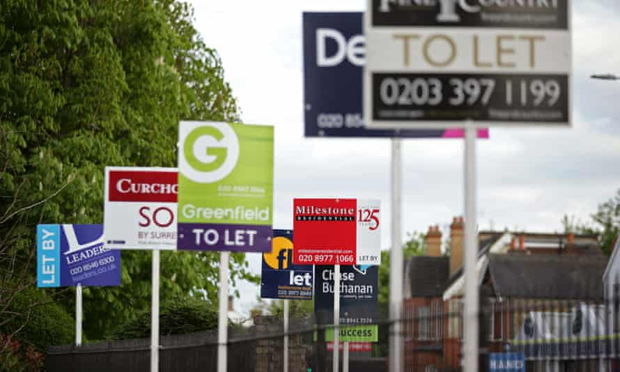 Private renting signs