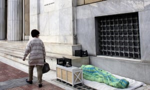 One in 70 people in Athens are now homeless and most have become so since 2011.