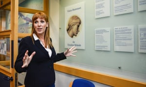 Angela Rayner, Shadow Secretary for Education, during visit to Ursuline High School and Sixth Form College in London