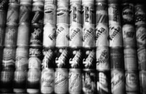 Ivars Gravlejs, Collection of Cans, 1992