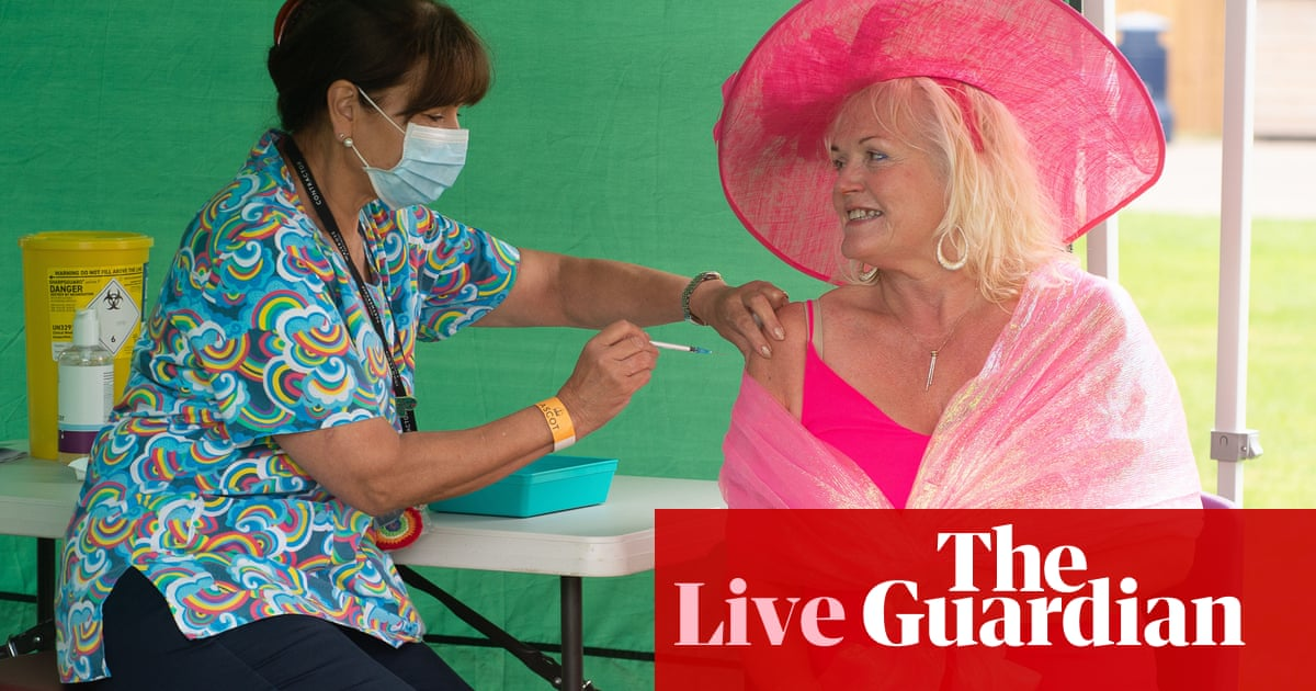 Covid live: UK could extend vaccine passports to sports; India reports 39k new cases