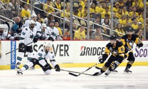 The Sharks have been unable to skate with the Penguins, but they made it this far on puck movement and skill.