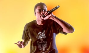 Contradictions … Vince Staples performs hits from his Big Fish Theory album and earlier work at the O2 Forum.