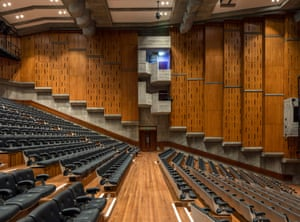 Queen Elizabeth Hall/Purcell Room refurbishment: glowing