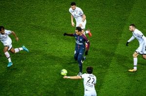 Neymar ran the game for PSG in their 8-0 demolition of Dijon.