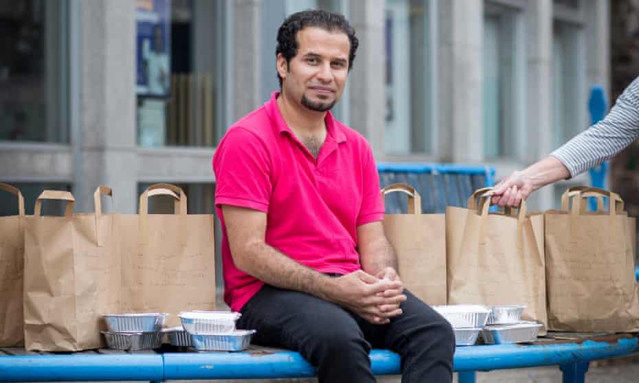 'I understand what it's like to be hungry': Khaled Wakkaa.