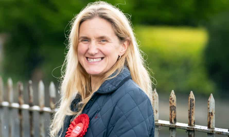 Kim Leadbeater, 44, is a personal trainer and campaigner.