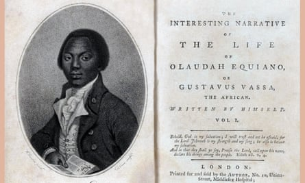 The autobiography of Olaudah Equiano, prominent in the British movement for the abolition of the slave trade.