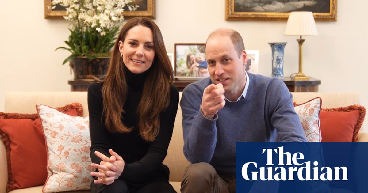 'Careful what you say': Prince William and Kate launch YouTube channel