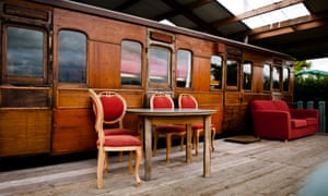 Railway Carriage Coppins Farm