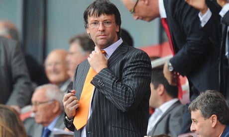Karl Oyston steps down as chairman of Blackpool in apparent rift