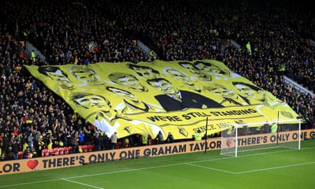 Watford held by Middlesbrough as Graham Taylor is remembered