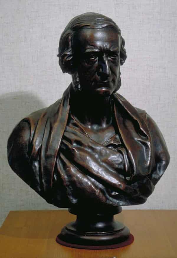 Bust of Sir George Cornewall Lewis