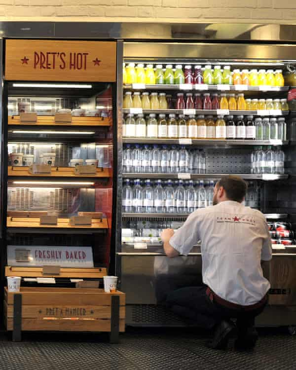 A Pret a Manger store in London.