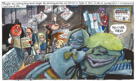Martin Rowson on the Conservatives' record in government — cartoon