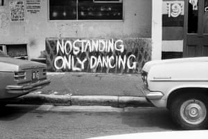 No Standing Only Dancing, 1974.