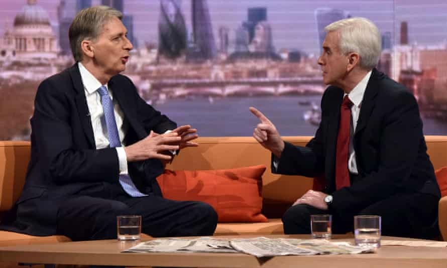 Hammond and McDonnell on the Andrew Marr Show