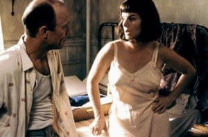Harden with Ed Harris in Pollock, for which she won the best supporting actress Oscar.