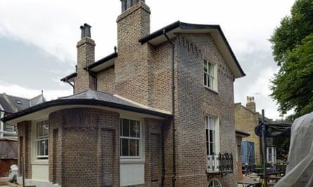 Sandycombe House in Twickenham.