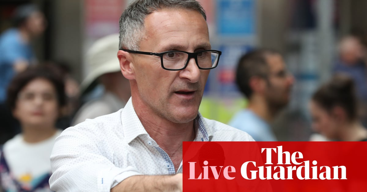 4938 - Richard Di Natale quits as Greens leader and will leave Senate – politics live | Australia news