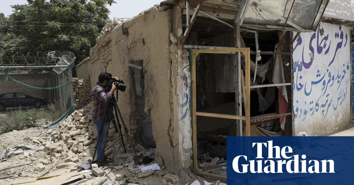 UK media unite to urge visas for Afghan reporters at risk from Taliban