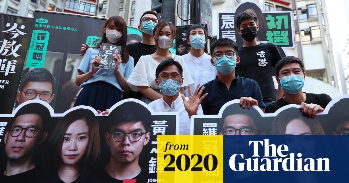 Hong Kong primaries: China declares pro-democracy polls 'illegal'
