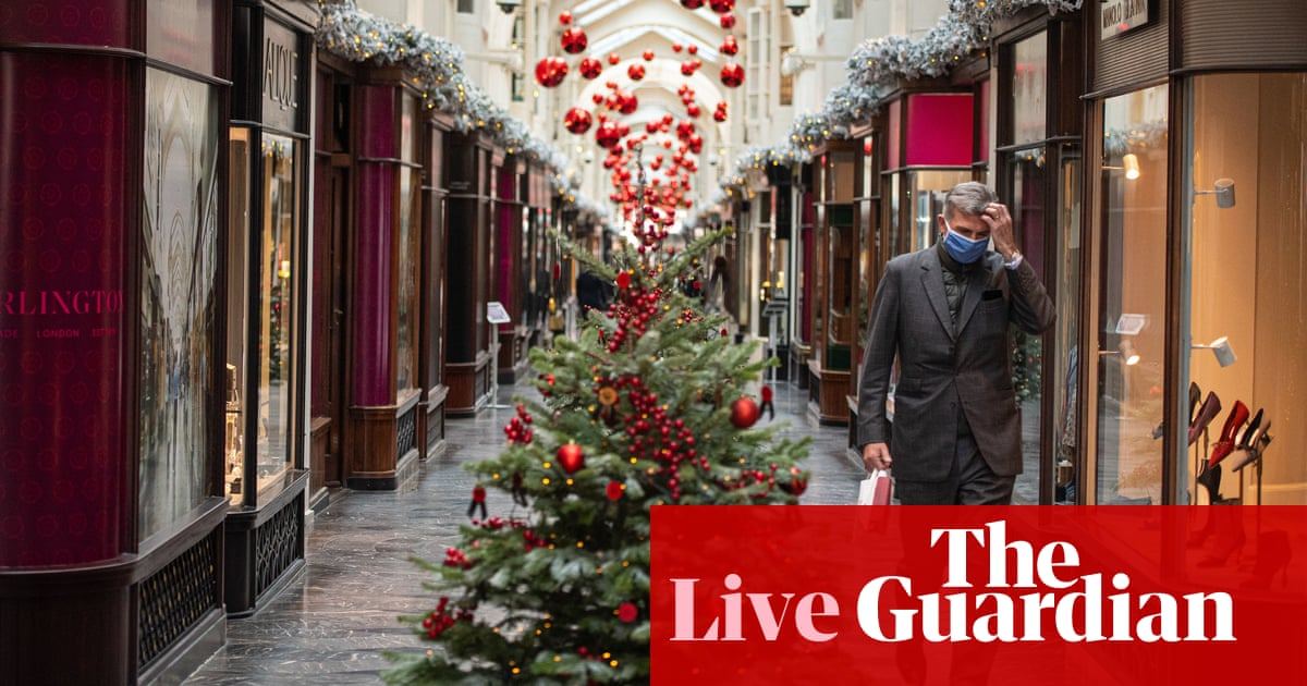 Uk Coronavirus Three Households To Be Allowed To Mix For Up To Five Days Over Christmas Uk Leaders Agree As It Happened Politics The Guardian