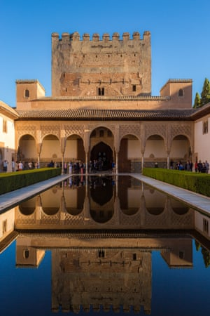 A building in the Alhambra