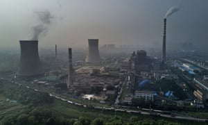 China coal fired plant