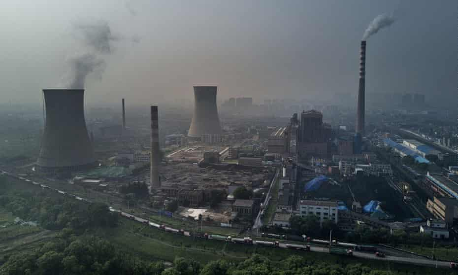 electricity generation stacks in china