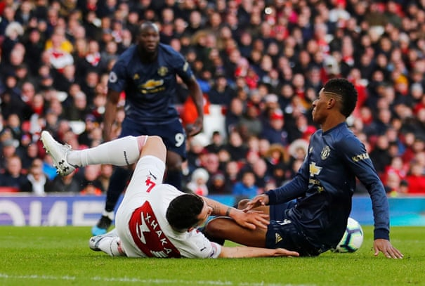 Arsenal 2-0 Manchester United: Premier League – as it