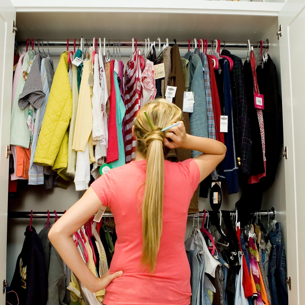 Why are our wardrobes full of unworn clothes? Because most purchases are  not rational | Fashion | The Guardian
