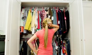 A quarter of respondents said the clothes were unworn because they were waiting to lose weight to fit into them.