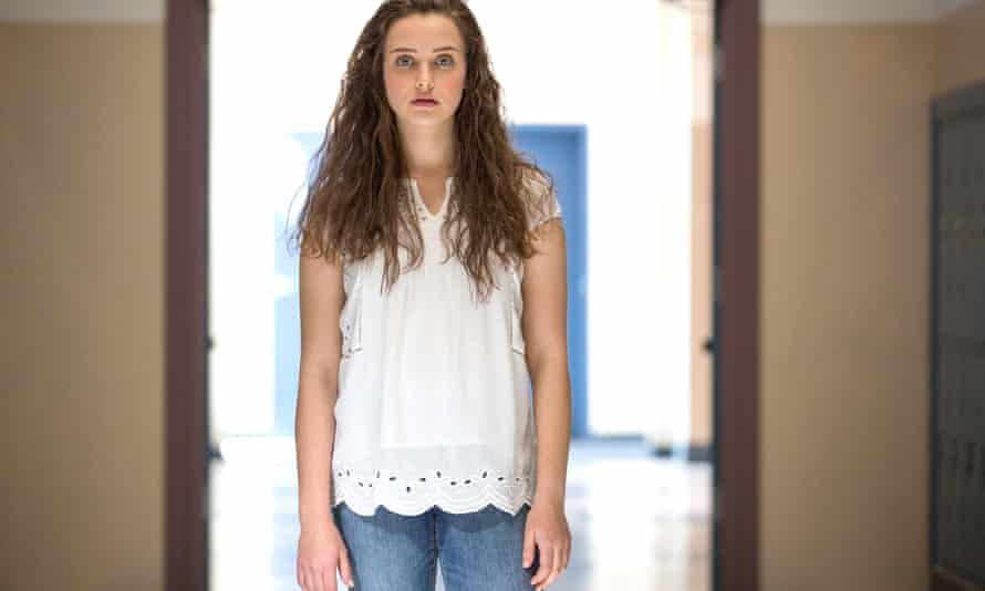 'Extremely concerning' … Katherine Langford in 13 Reasons Why.