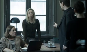 Barbara, Saga, Henrik and Lillian.