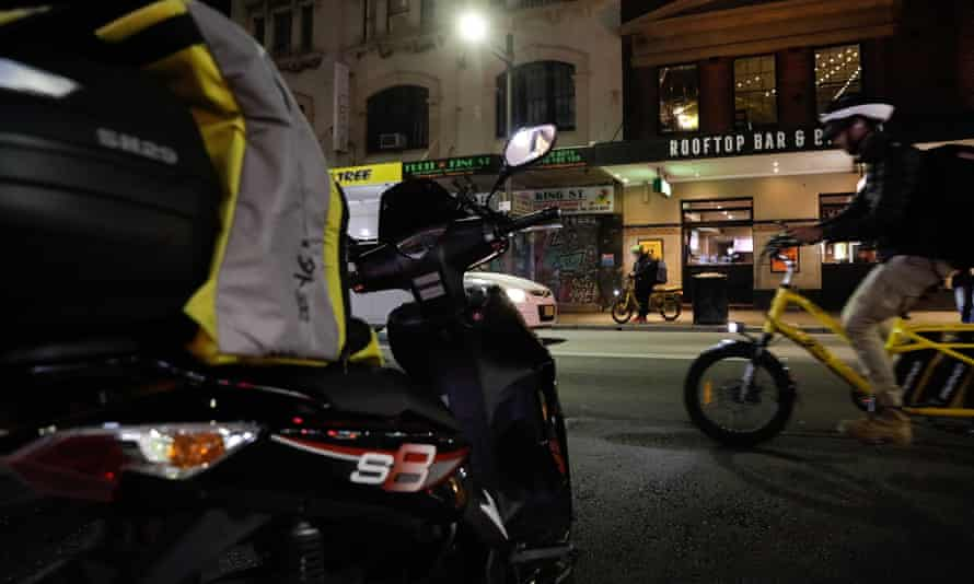 With pay for drivers determined by algorithms, and often below minimum wage, industry representatives allege food delivery apps are creating unsafe and unfair conditions for drivers